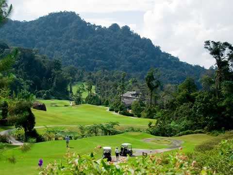 Borneo Highland Clubhouse View